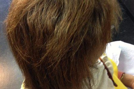 縮毛矯正とセルフカラーの素敵じゃない関係