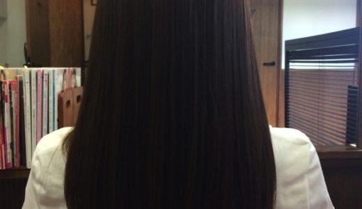 縮毛矯正かけてても、綺麗は維持できるんだよ。